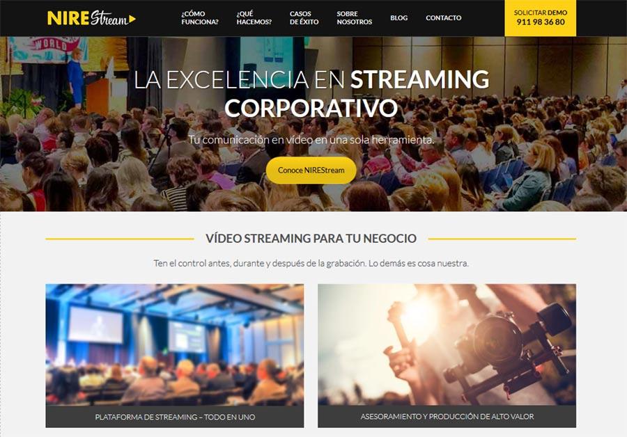 La excelencia en Streaming Corporativo